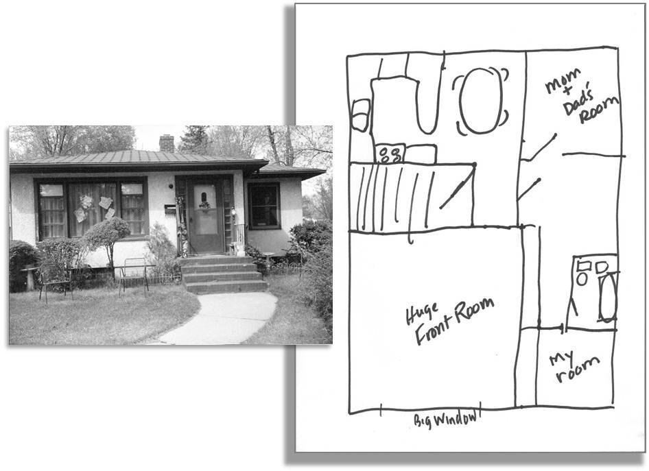 Digging up Stories: Memories from Floor Plans | Virtual Speech Coach