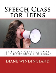 Speech Class for Teens Front Cover