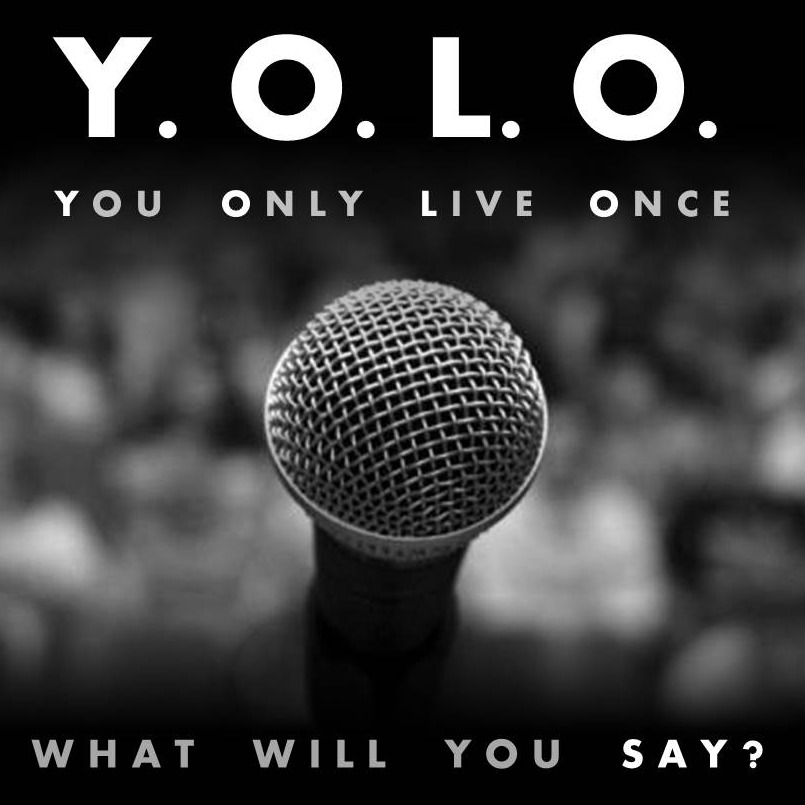 yolo speaking