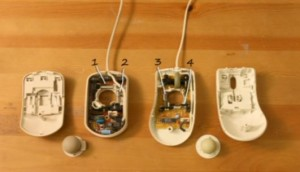 Mouses taken apart