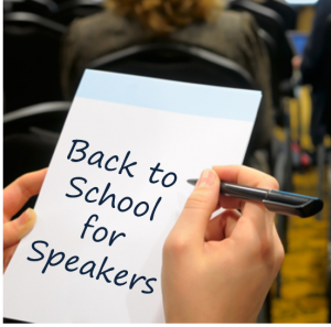 Back to school for speakers