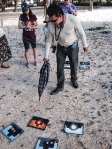 Tour Guide at Chichen Itza