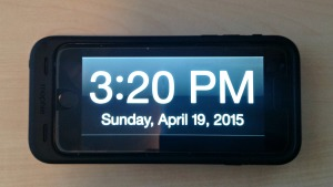 Big Digital Clock App