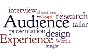 Audience Experience Wordle